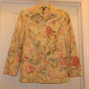 LAUREN Ralph Lauren Linen Cotton Blend Blazer